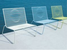 GRID Garden armchair by CIACCI design Karim Rashid