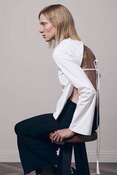 minimal white shirt with open back detail curated by ajaedmond.com | capsule wardrobe | minimal chic | minimalist style | minimalist fashion | minimalist wardrobe | back to basics fashion