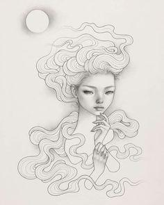 Contemporary Art Artists, Frank Stella, Audrey Kawasaki, Instagram Giveaway, Paper Drawing, Affordable Art Fair, Beautiful Drawings, Illustration Artists, Art Auction