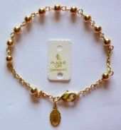 Miraculous Medals are the most popular item of Catholic jewelry and millions of medals are worn around the world. This type of Catholic Medal is also known as the medal of the Immaculate Conception. Rosary Bracelet, Beaded Bracelets, Gold Rosary, Our Lady Of Lourdes, Catholic Jewelry, Miraculous, Trust, Silver, Clothing