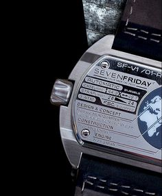 SevenFriday is very clear where the parts of its V-serie watches are made