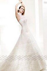 Aライン ウェディングドレス