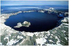 Oregon underground supervolcano