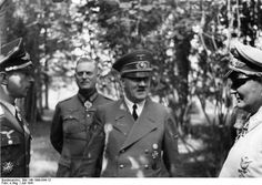 July A confident looking Hitler with Luftwaffe Chief Hermann Göring (right) and a decorated fighter pilot. Behind Hitler is his chief military aide Wilhelm Keitel, now a Field Marshal. Below: General Heinz Guderian in Russia, full of confidence as well. Wilhelm Keitel, Barack Obama, Nuremberg Trials, Germany Ww2, Fighter Pilot, German Army, Luftwaffe, World War Ii, Germany