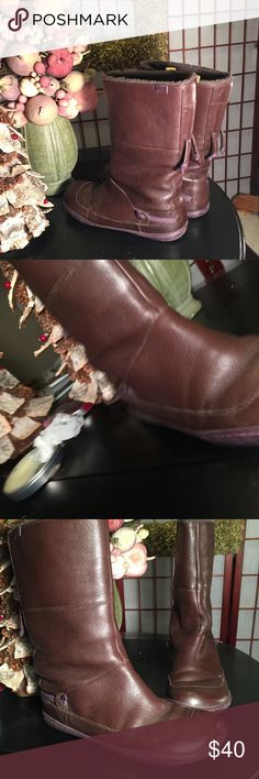 Camper boots Sz 8 Fantastic boots great for the barn Camper Shoes Winter & Rain Boots