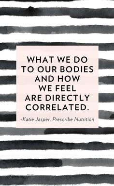 We are inundated with diets, detoxes and juice cleanses. But what we aren't talking about is our relationship with food. Katie Jasper is a functional nutritionist, recovering anorexic and the co-founder of Prescribe Nutrition, whose mission is to help us feel better.