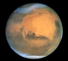 Mars, source: Hubble telescope