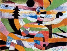 Paul Klee: Woman Awakening - 1920