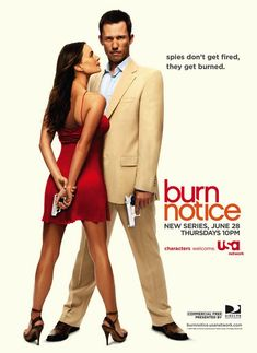 Burn Notice -- as it gets closer to the finale, I find myself screaming at the TV even more than usual.