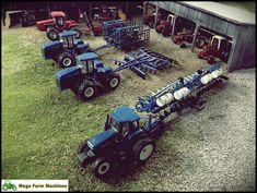 Most popular Farm Machinery videos and galleries. John Deere Toys, Monster Trucks, Farm Layout, Chevy Diesel Trucks, Toy Display, Farm Toys, Mini Farm, New Holland, Fire Trucks