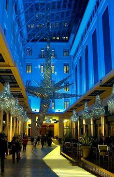 GREECE CHANNEL   #Christmas.. Spyromiliou Arcades, #Athens, #Greece http://www.greece-channel.com/
