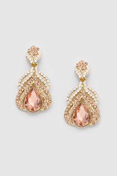 Jemma Earrings in Rose Champagne