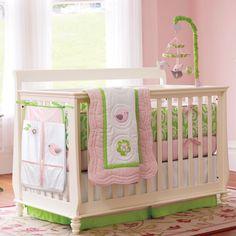 """sweet songs"" 4-piece crib bedding set. #carters"