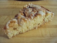 Cinnamon Roll Coffee Cake ... on the dense side with gooey center