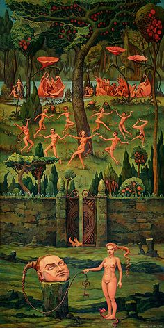 """Rechter Seitenflügel (right wing)"" - 2009 ~ by Michael HUTTER."