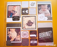 Whipperberry: New Project Life Just Add Color Kit Perfect for Instagram