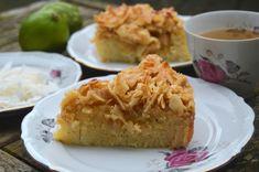 Drömmekage - tanskalainen kookostosca Apple Pie, Macaroni And Cheese, Baking, Ethnic Recipes, Desserts, Food, Mac Cheese, Postres, Patisserie