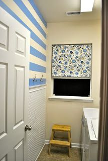 Fridge Coaster: an organized {laundry room}