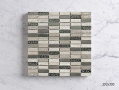 MSCB8G193CW  MARBLE/GLASS/S.STEEL COMBO MOSAIC Mosaic Tiles, Wall Tiles, Mosaics, Sheet Sizes, Tile Floor, Marble, Flooring, Steel, Glass