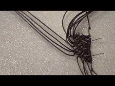 bracciale macrame tutorial - YouTube