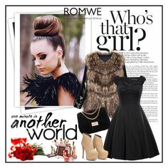 """Romwe 2/IX"" by merima-p ❤ liked on Polyvore featuring GALA, women's clothing, women's fashion, women, female, woman, misses and juniors"