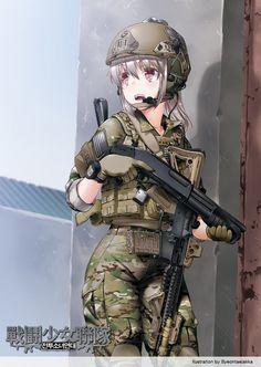 전투소녀연대-미국 공수부대