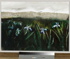 This Wyeth piece is named 'Irises' and is one of the pieces you can expect to see during the Charleston Art Auction on October 27th this year. For more information see http://charlestonartauction.com/