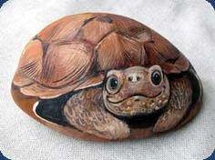 rocks painted like animals | Painting on Stones and Rocks, Animal Stones, Animal Shapes , animals ...