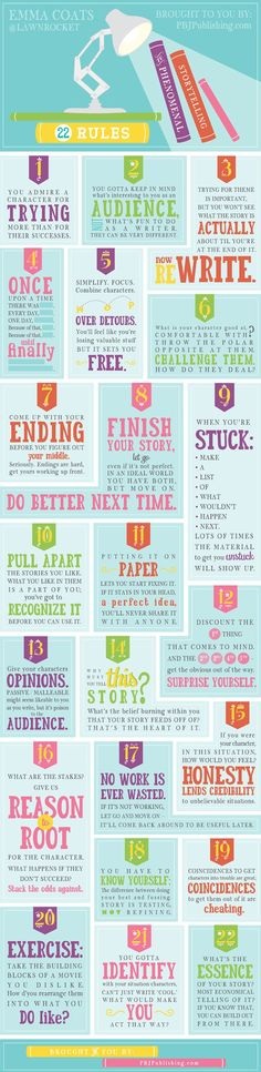 Emma Coats: 22 Rules of Storytelling    #marketing #socialmedia #storytelling