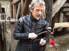 """Peter Capaldi in """"The Musketeers""""... Mr Capaldi, that ain't no sonic screwdriver"""