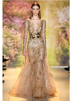 Zuhair Murad Haute Couture 2014 | Zuhair Murad Spring Summer 2014 Haute Couture Collection