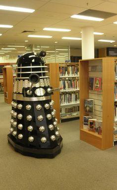 Dalek...I don't remember daleks in the library!