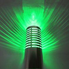 3W Modern Multi-color LED Wall Light – LightSuperDeal.com