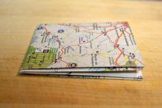 DIY cartera de papel, paper wallet
