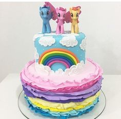 Little Pony Cake, Birthday Cake, Birthday Parties, Pink Panthers, Cakes And More, Amazing Cakes, Sweets, Party, Desserts