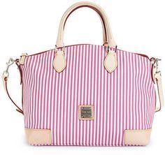 ShopStyle: Dooney & Bourke Handbag, Stripes Novelty Satchel $218 macys