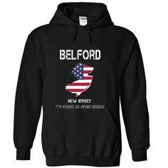 I Love BELFORD - Its where my story begins! T shirts