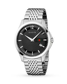 Gucci Watch, Unisex Swiss G-Timeless Stainless Steel Bracelet - Gucci - Jewelry & Watches - Macy's Gucci Watches For Men, Stylish Watches, Luxury Watches, Cool Watches, Wrist Watches, Men's Watches, Diamond Watches, Gucci G, Shopping
