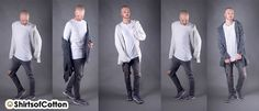 How to dress: Weißes Longsleeve im Herbst
