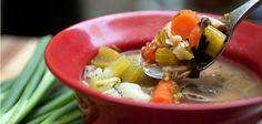 Recipe_chickenwildricesoup.jpg Nutrition Weight Loss Make stock, then make soup.  Looks delicious