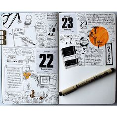 I like this idea. Weekday stickers for journal.
