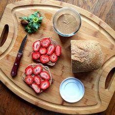 healthyauthor:  Breakfast prep. I love Saturdays!