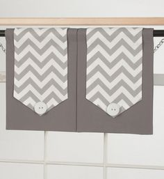 Design Your Valance Chevron 2-Panel | Overstock.com Shopping - The Best Deals on Valances