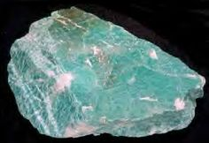 Amazonite         Amazonite was named for the Amazon river.   http://witchesofthecraft.com/category/crystalsgems/page/3/
