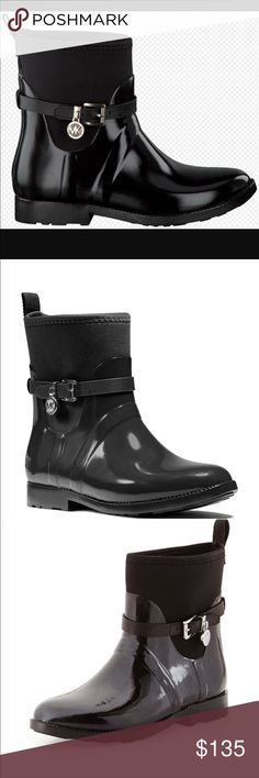New Michael Kors rain ☔️ or snow ❄️ boot size 8 Bundle up and save Michael Kors Shoes Winter & Rain Boots