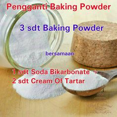 Sauce Recipes, Cooking Recipes, Baking Soda Baking Powder, Resep Cake, Homemade Spices, Baking Tips, Recipe Cards, Baking Ingredients, Cake Cookies