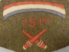 rainbow army patch | RARE ORIGINAL WORLD WAR ONE ERA VINTAGE SINGLE UNITED STATES ARMY ...