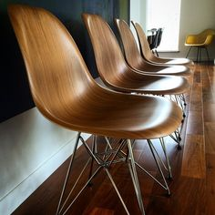 Herman Miller Eames molded plywood