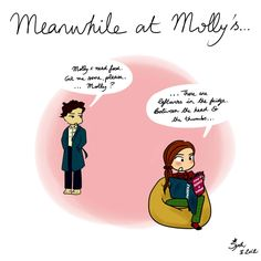 meanwhile, at Molly's (I will go down with this ship)