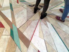 Moniker Floor by Mark McClure, Stand D09, Hall T1, Tent London 2015 www.markmcclure.co.uk
